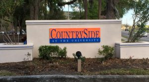 countryside entrance sign