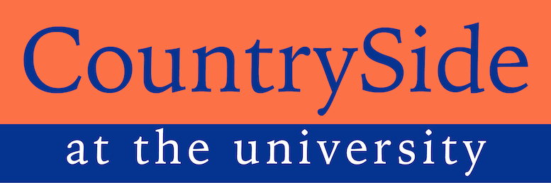 countryside at the university logo